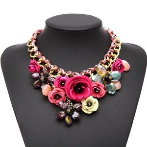 "NEW Floral ""Patricia"" necklace"